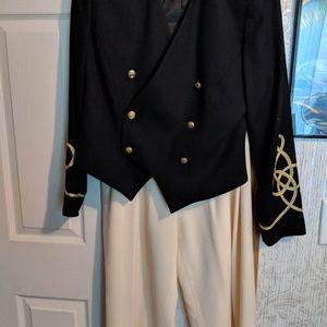 BICCI Vintage military style pants suit.